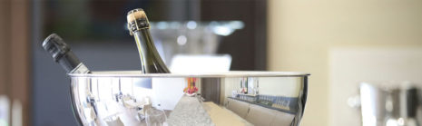Flaschenhalter/Weinkühler